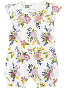Little Garden Romper - Big Floral