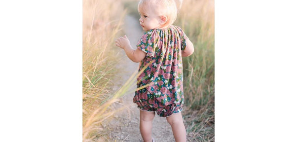 Elephant Dress With Bloomer Shorts Set