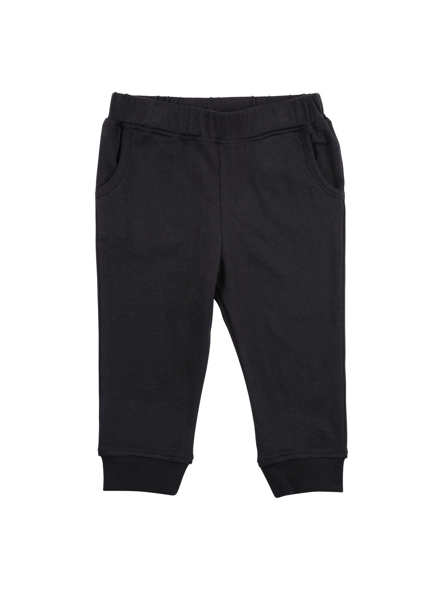 Tapered Pants- Black