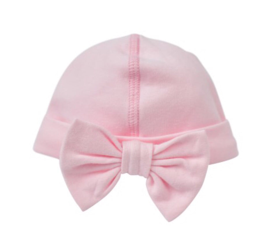 Pink Bow Cap