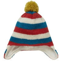 Knit Wool Hat - Stripes