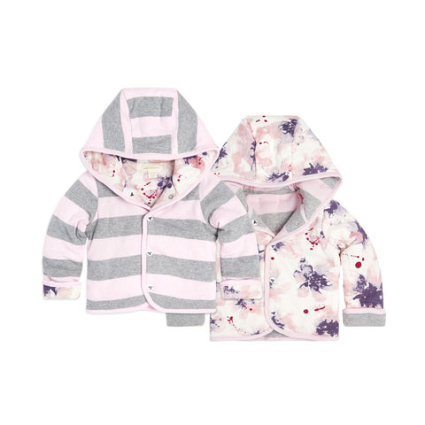 Exploded Petals Reversible Jacket