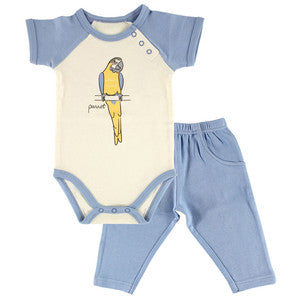 Parrot Shirt And Pant Set