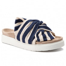 Inuikii striped blue slides