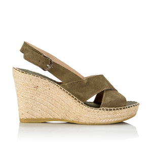 The Natural Shoe Cross Strap Espadrille