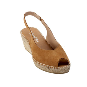 The Natural Shoe Open Toe Espadrille - Booty Shoes