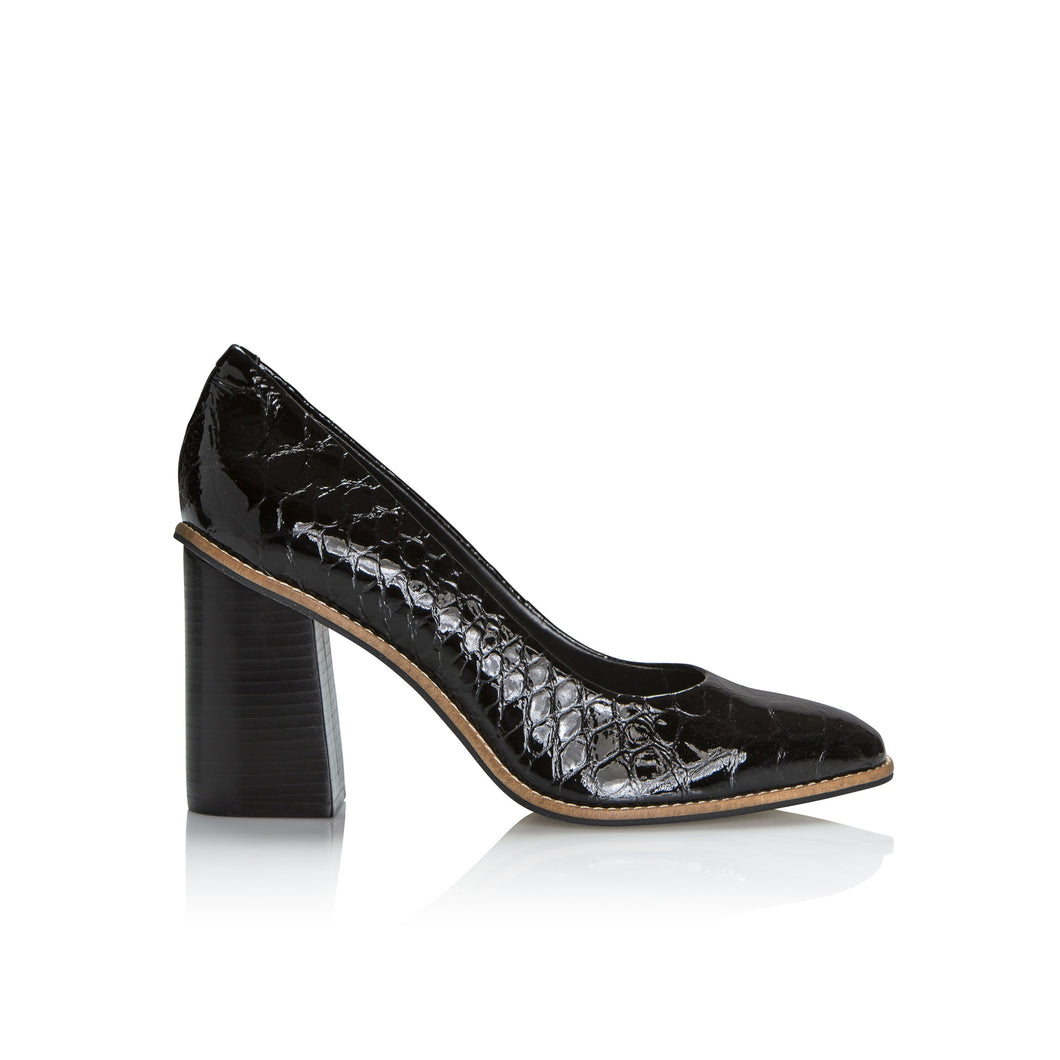 Piazza Grande python heel - Booty Shoes