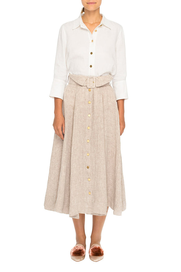 Gigi Skirt (Oatmeal)