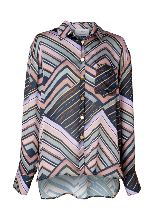 Matti Shirt (Alfresco Print)