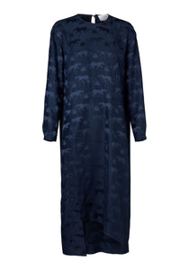 Salina Dress - Navy Jaguar
