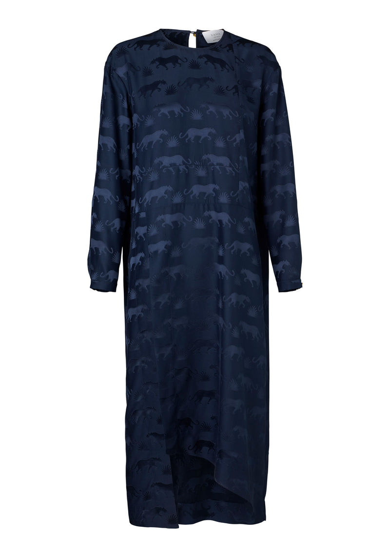 Salina Dress (Navy Jaguar)