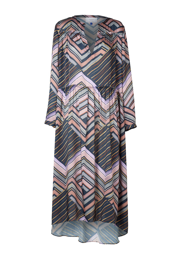 Stella Dress (Alfresco Print)