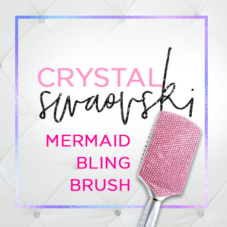Crystal Swarovski Mermaid Bling Brush