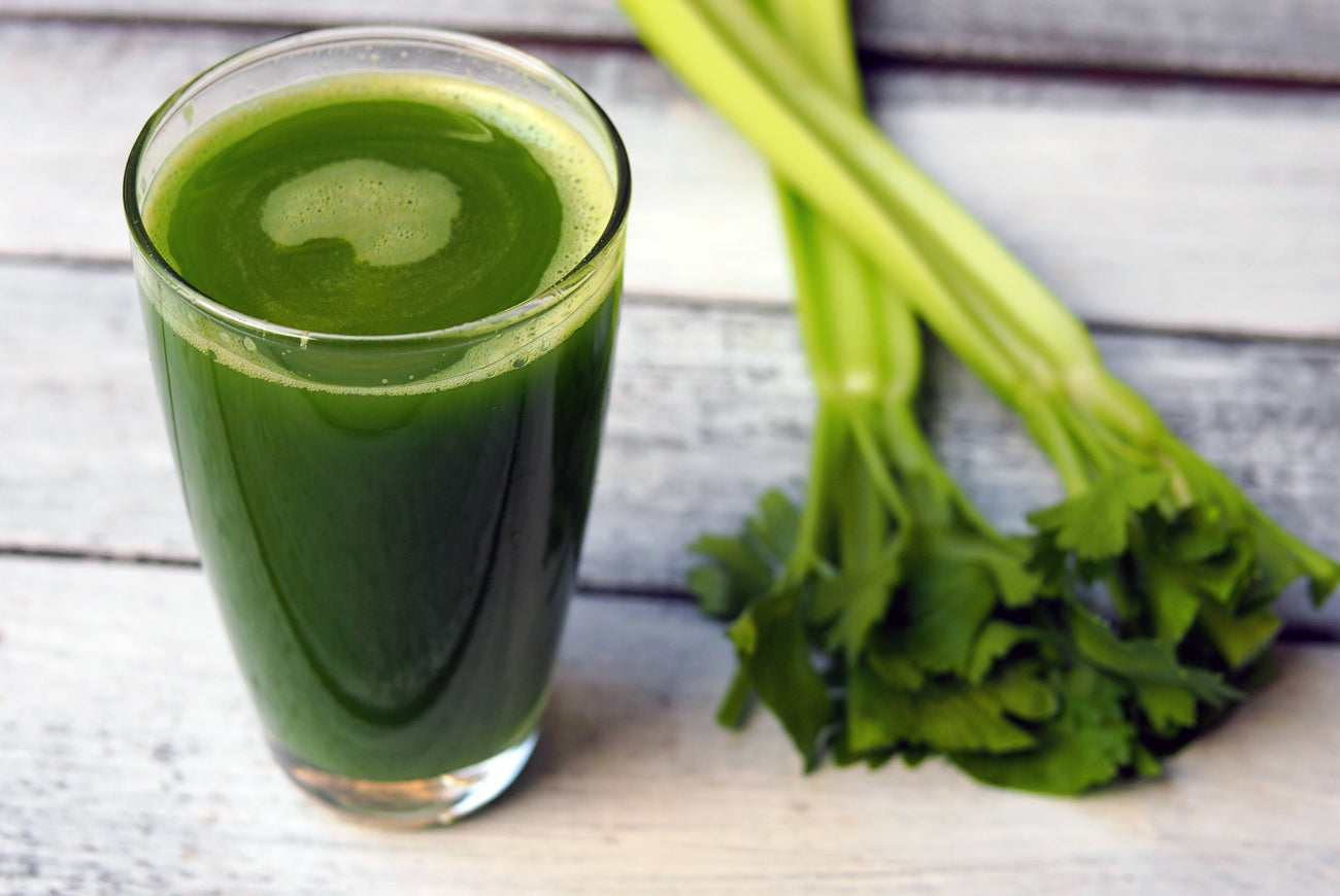 Celery Juice in a Blender (Medical Medium)