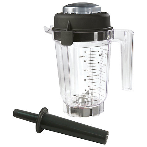 Vitamix Wet Blade Container with Lid and Blade with Tamper (32oz / 0.9L)