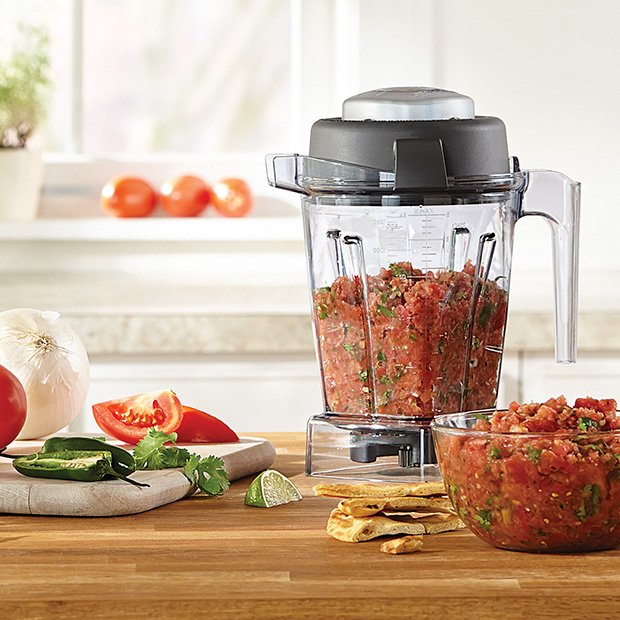 Vitamix Wet Container with Lid and Blade with Tamper (48 oz / 1.4L)