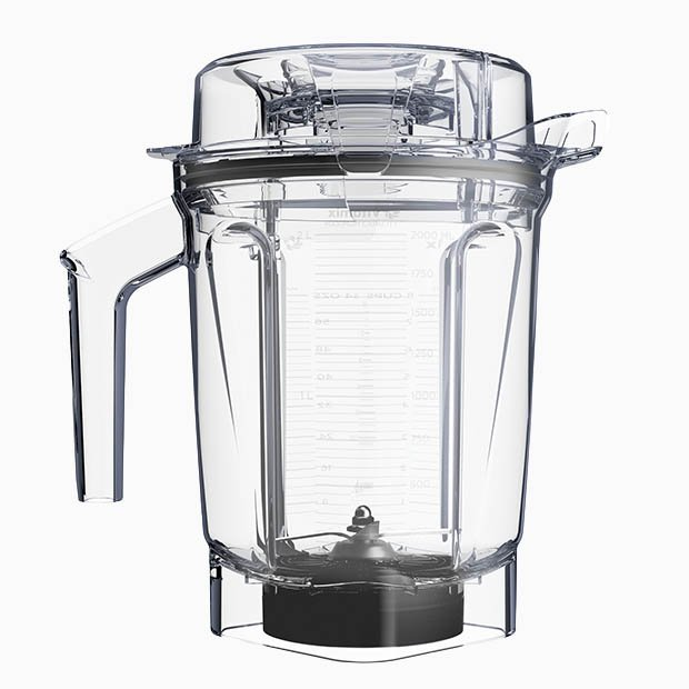 Vitamix Ascent Series 2L Low Profile Container with lid, blade & tamper