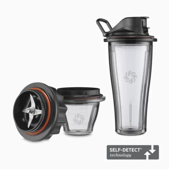 Vitamix Ascent Series Blending Starter Kit (1 x 600ml cup & 1 x 225ml bowl with blade base)