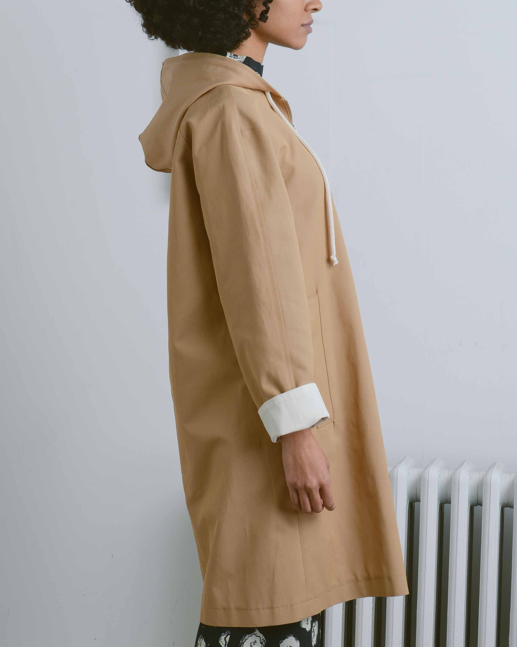 Edie Mac Hooded Trench Coat