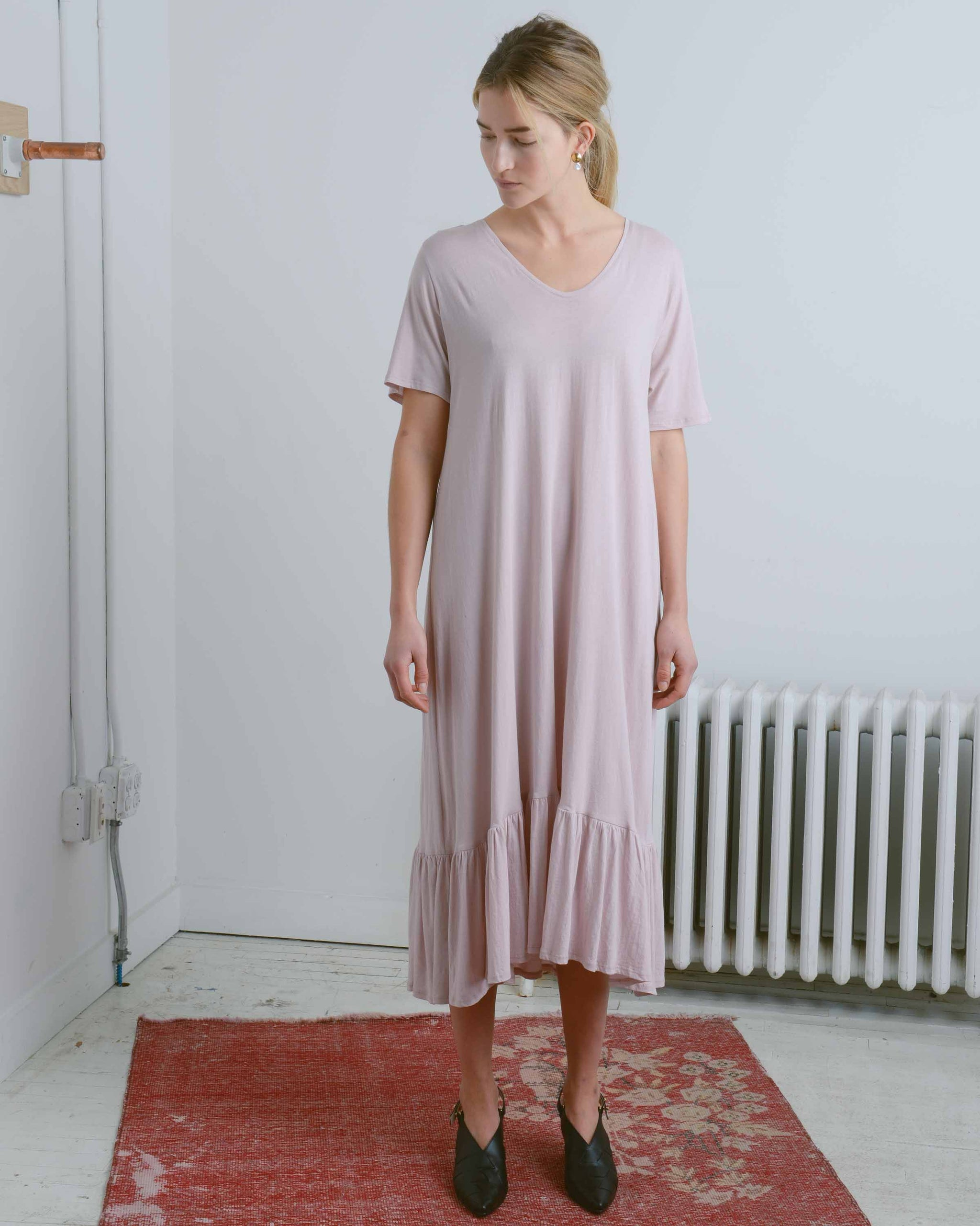 Gather Hem Dress
