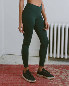 Forest Green V Legging