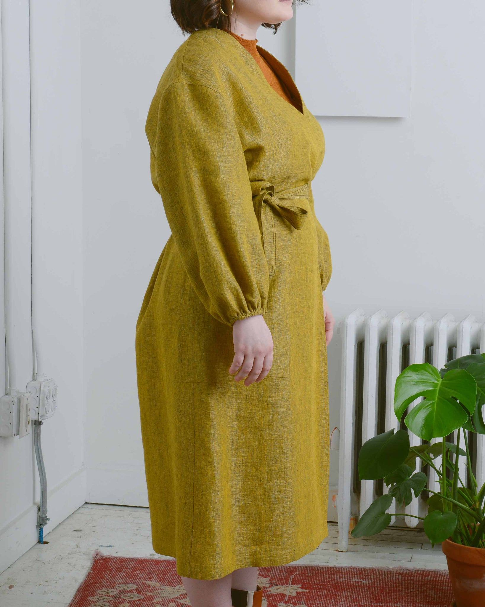 Marigold Isabella Wrap Dress
