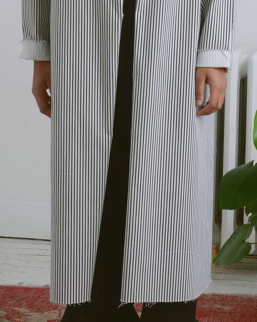 Long Stripe Coat