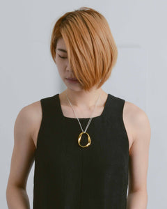 Gold Isabel Pendant Necklace