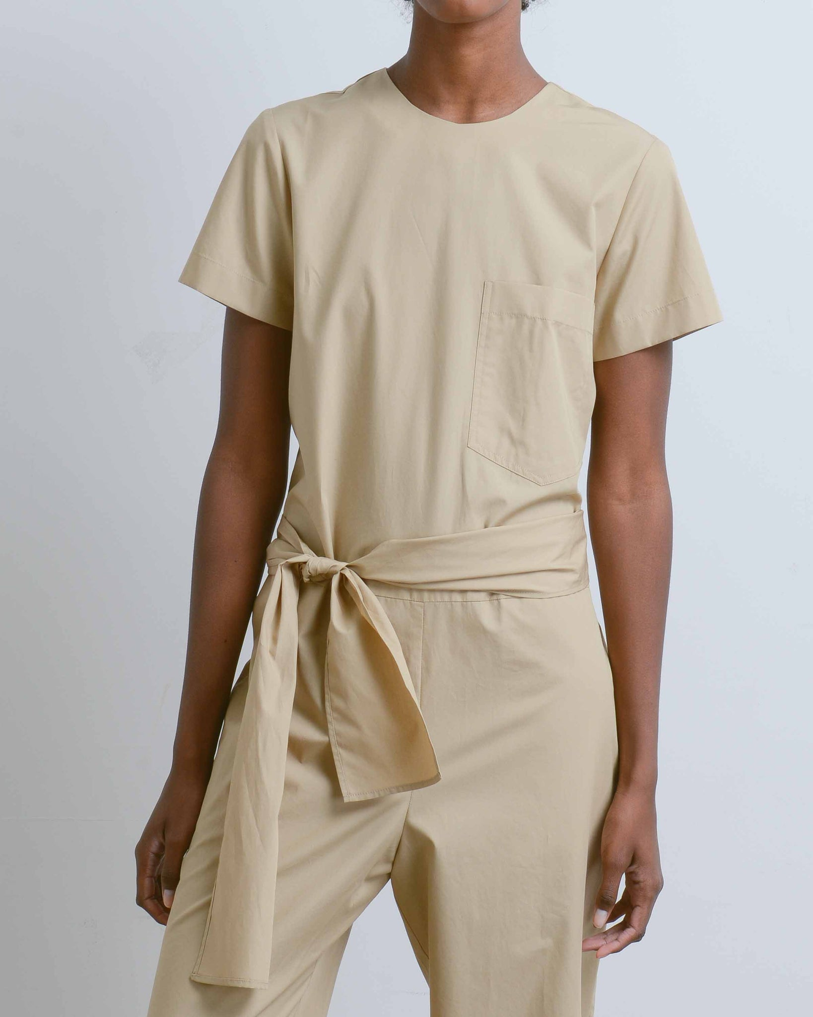 Lane Cotton Poplin Jumpsuit