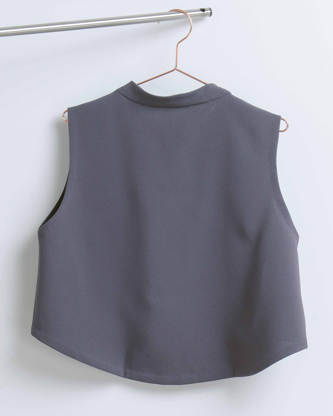 Dark Grey Windchime Top
