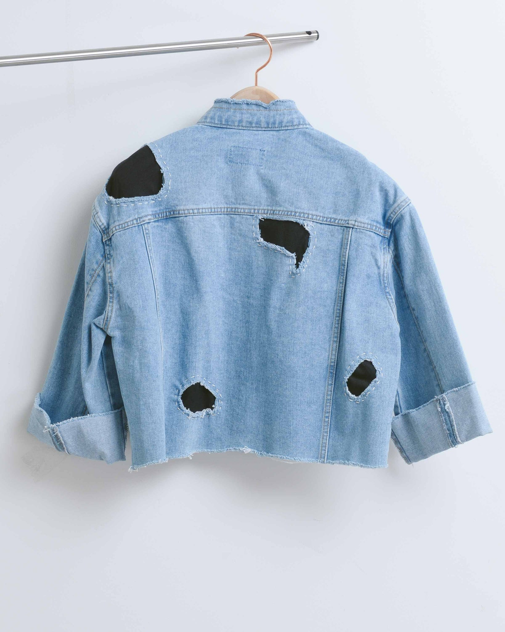 APPQ Crop Denim Jacket