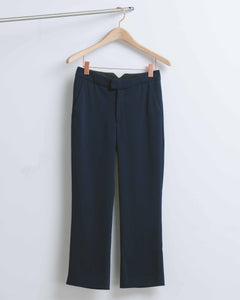 Midnight Cropped Trouser