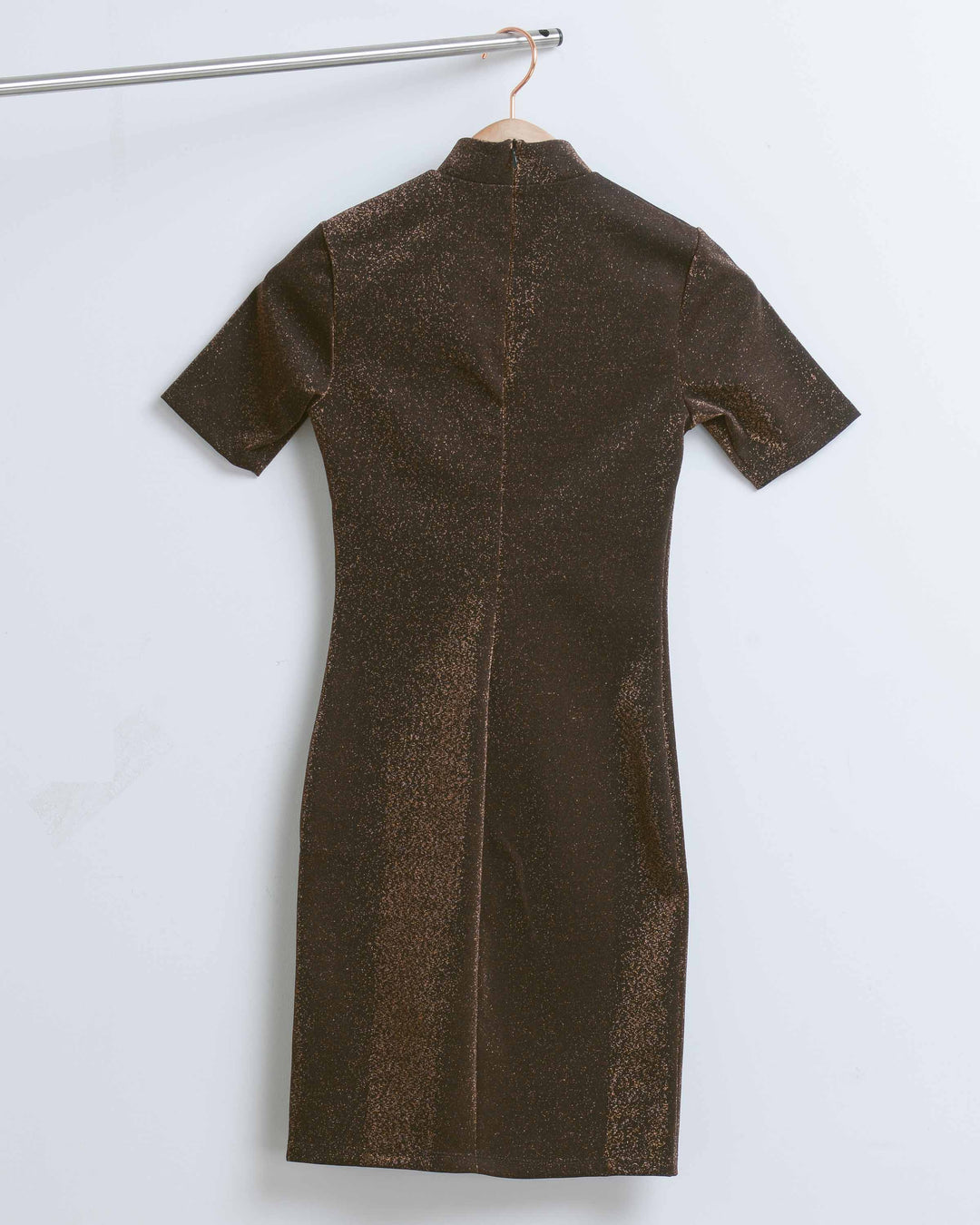 Copper Lurex Dress