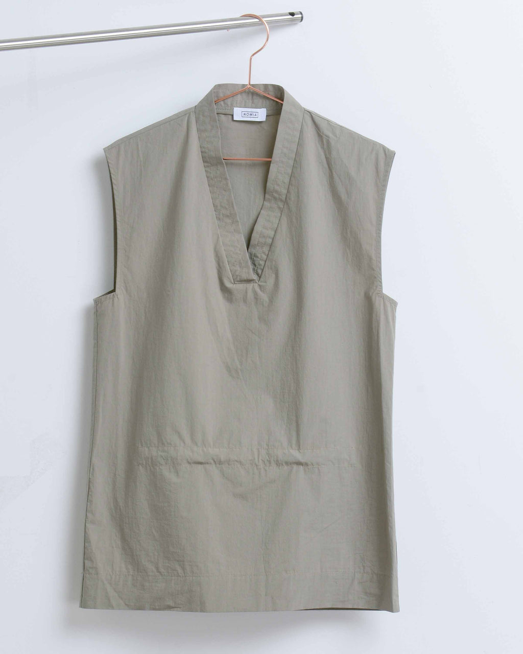 Stone Sleeveless Tunic