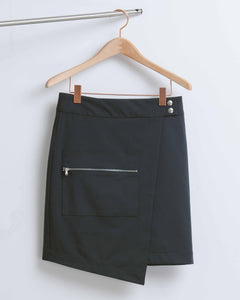 Navy Mini Skirt