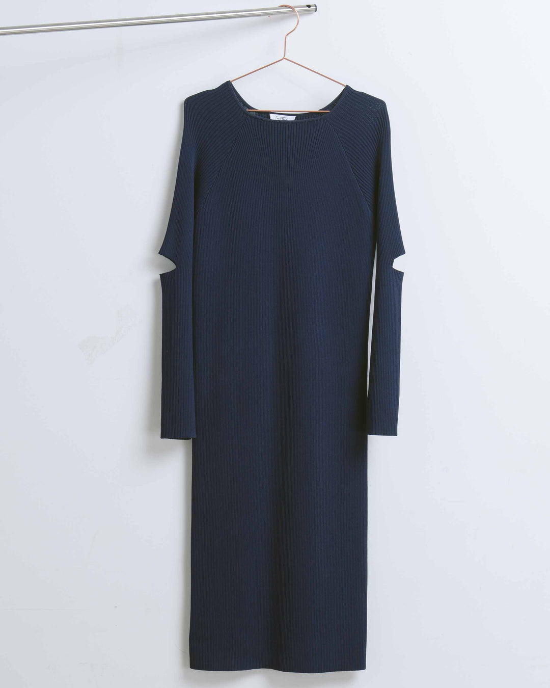 Midnight Slit Sleeve Midi Dress