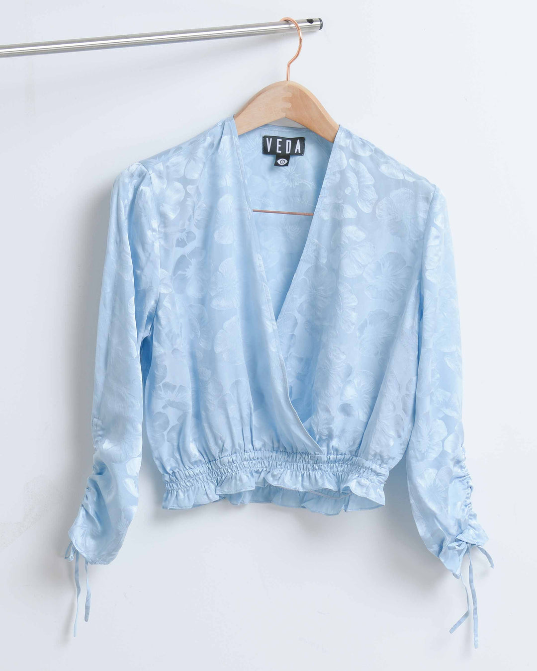 Baby Blue Fiji Top