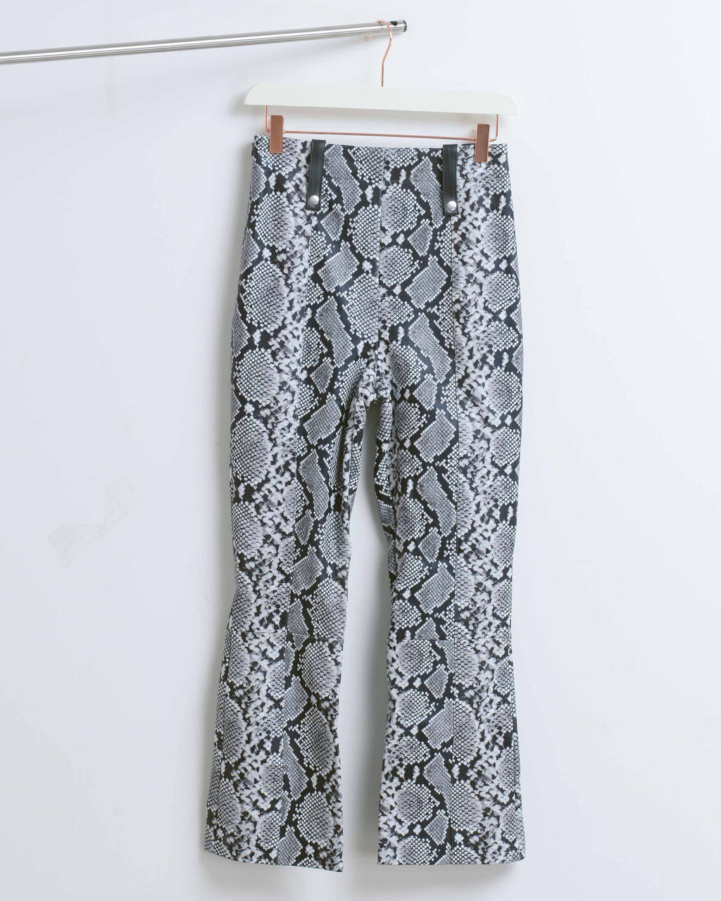 Snake Palmer Leather Pant