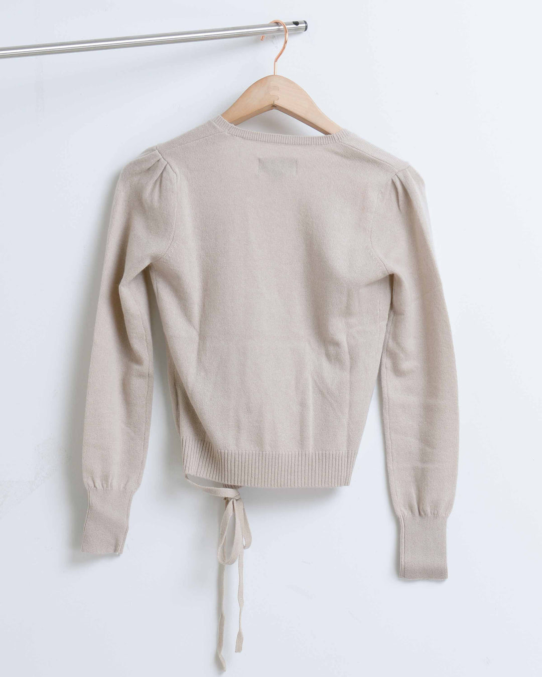 Wheat Met Cashmere Sweater