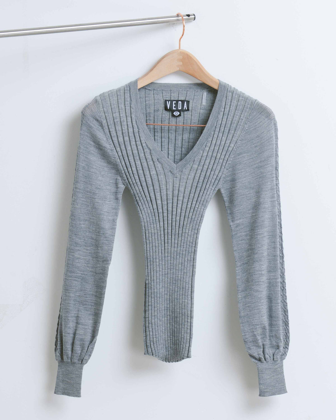 Grey Amelia Merino Sweater