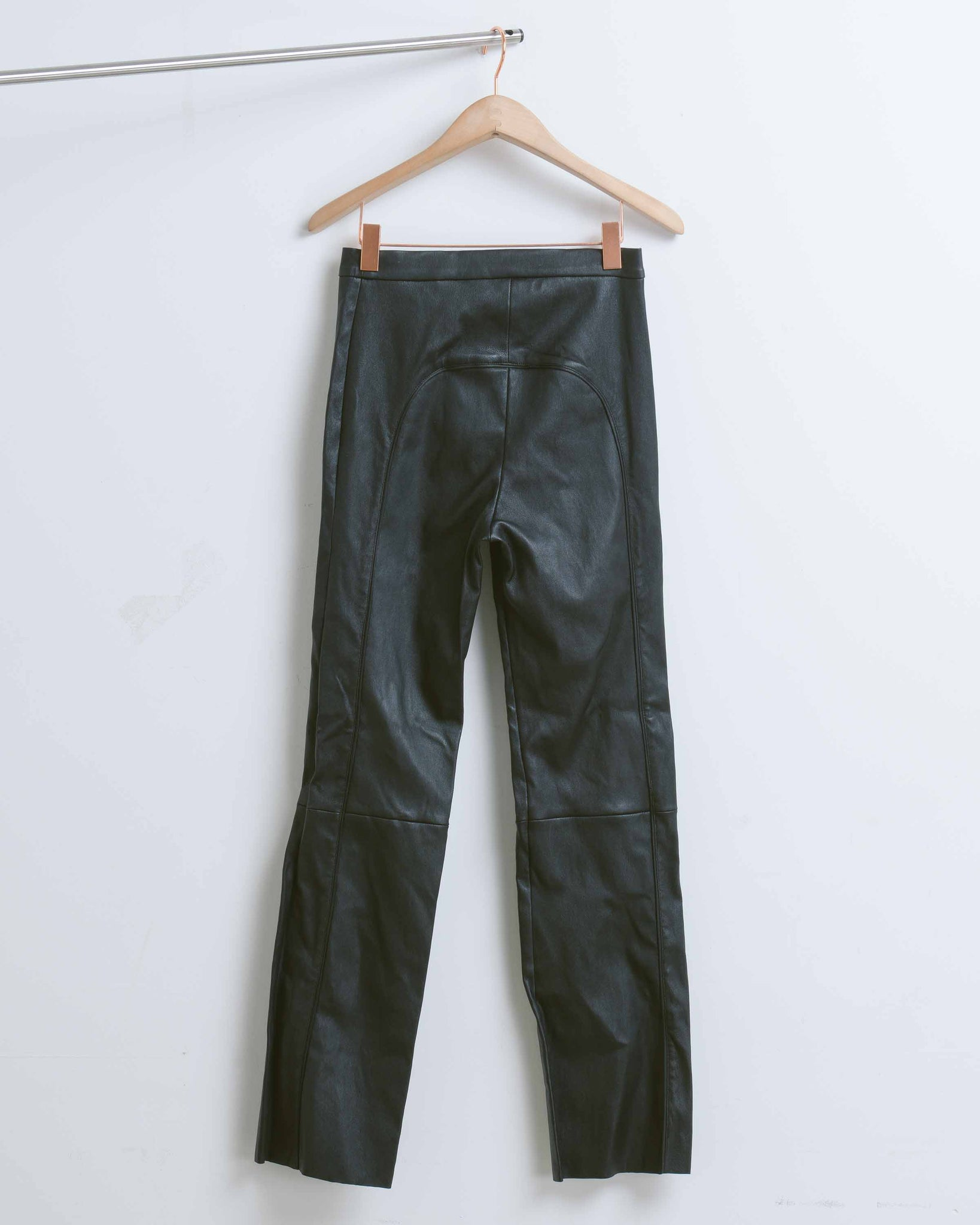 Black Triumph Leather Pant