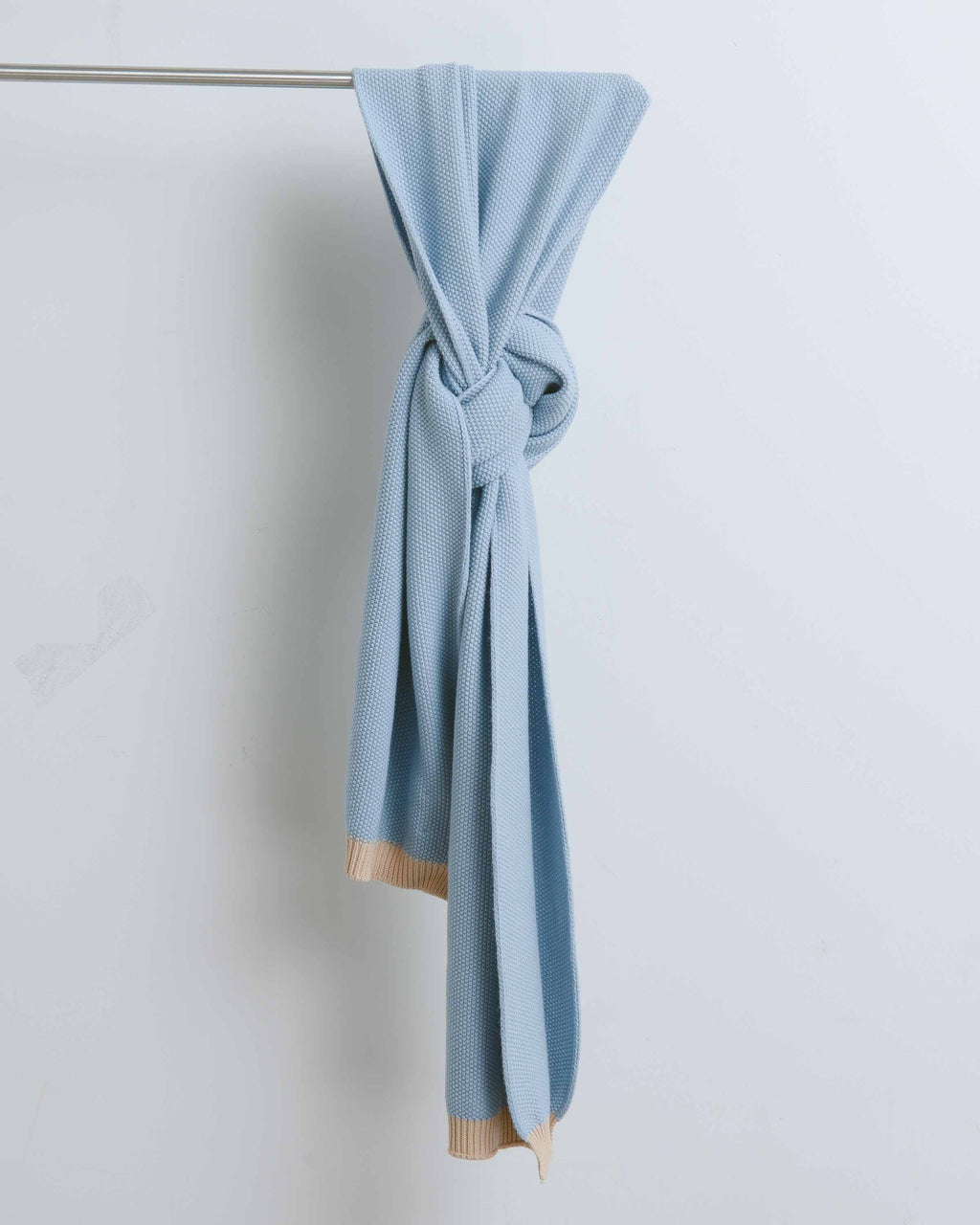 Light Blue Merino Scarf
