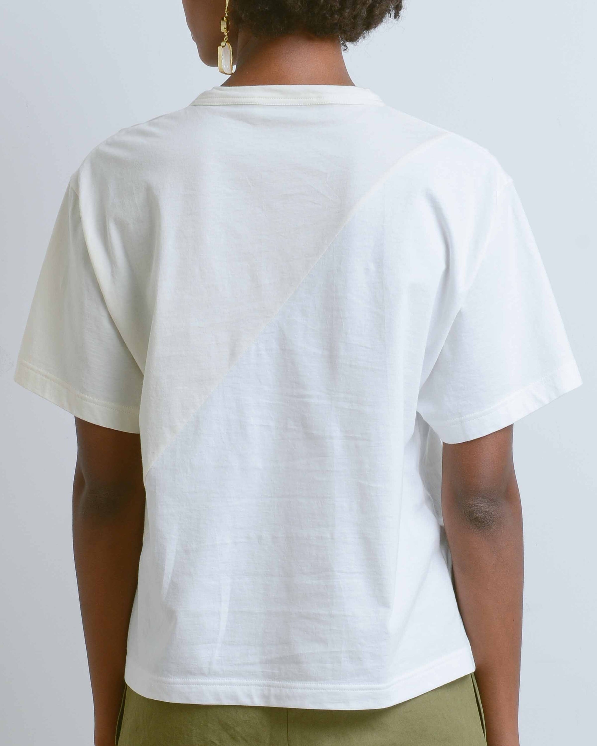 Lucian Two-Tone Tee