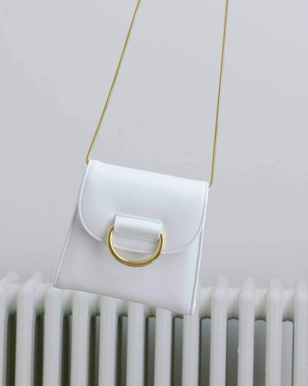 White Calf Tiny Box Bag
