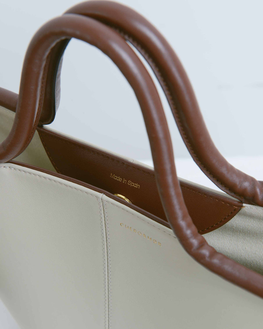 Cream Classic Tote Bag