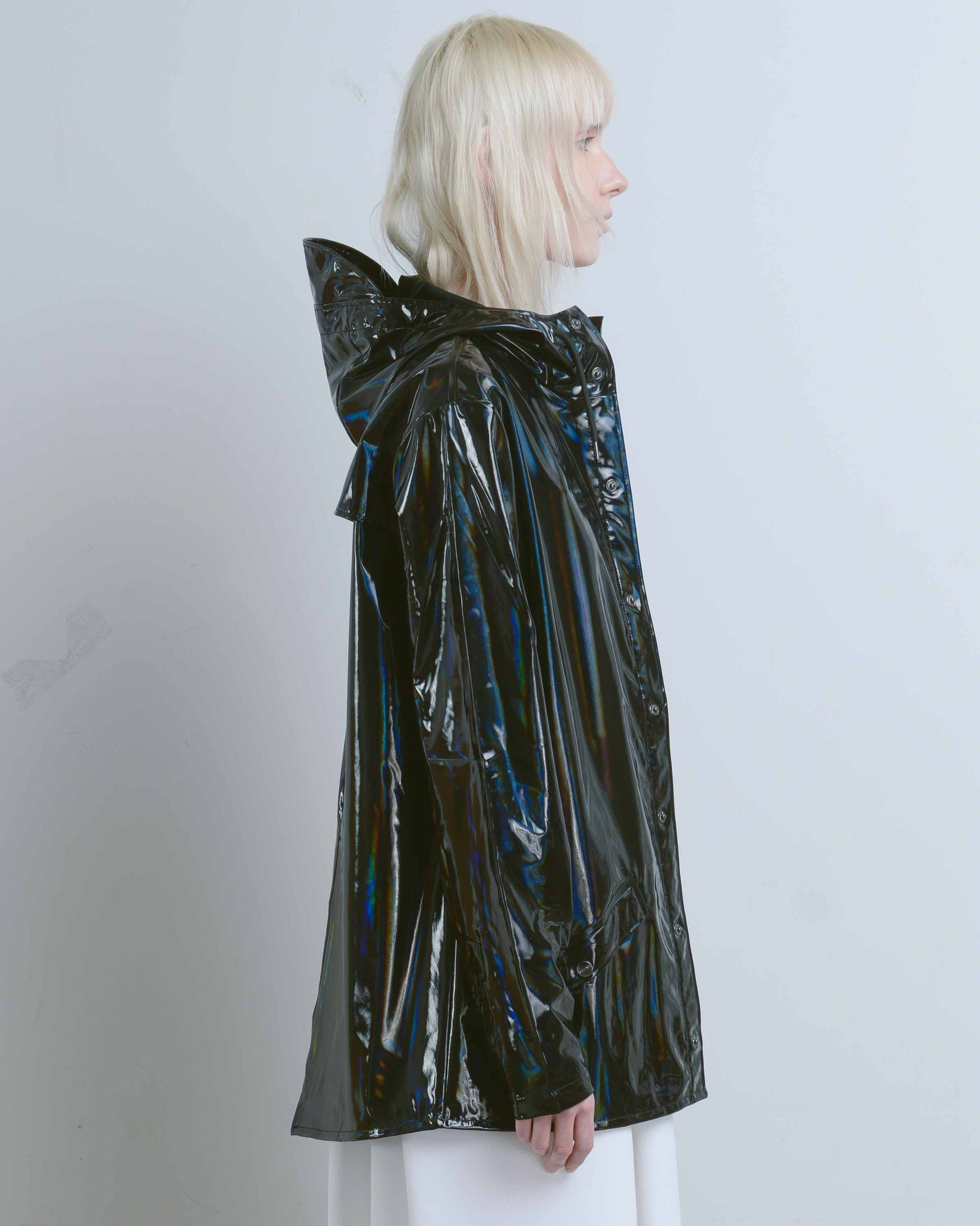 Holographic Black Jacket