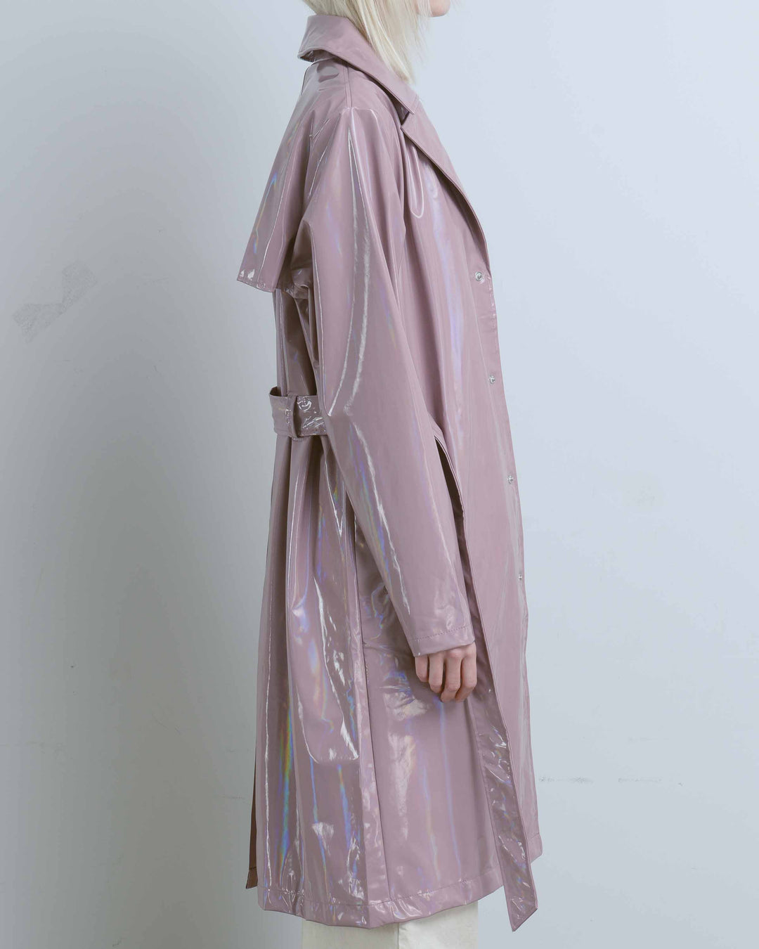 Holographic Woodrose Overcoat