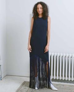 Curved Fringe Dress