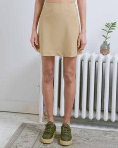 Khaki Sophie Mini Skirt