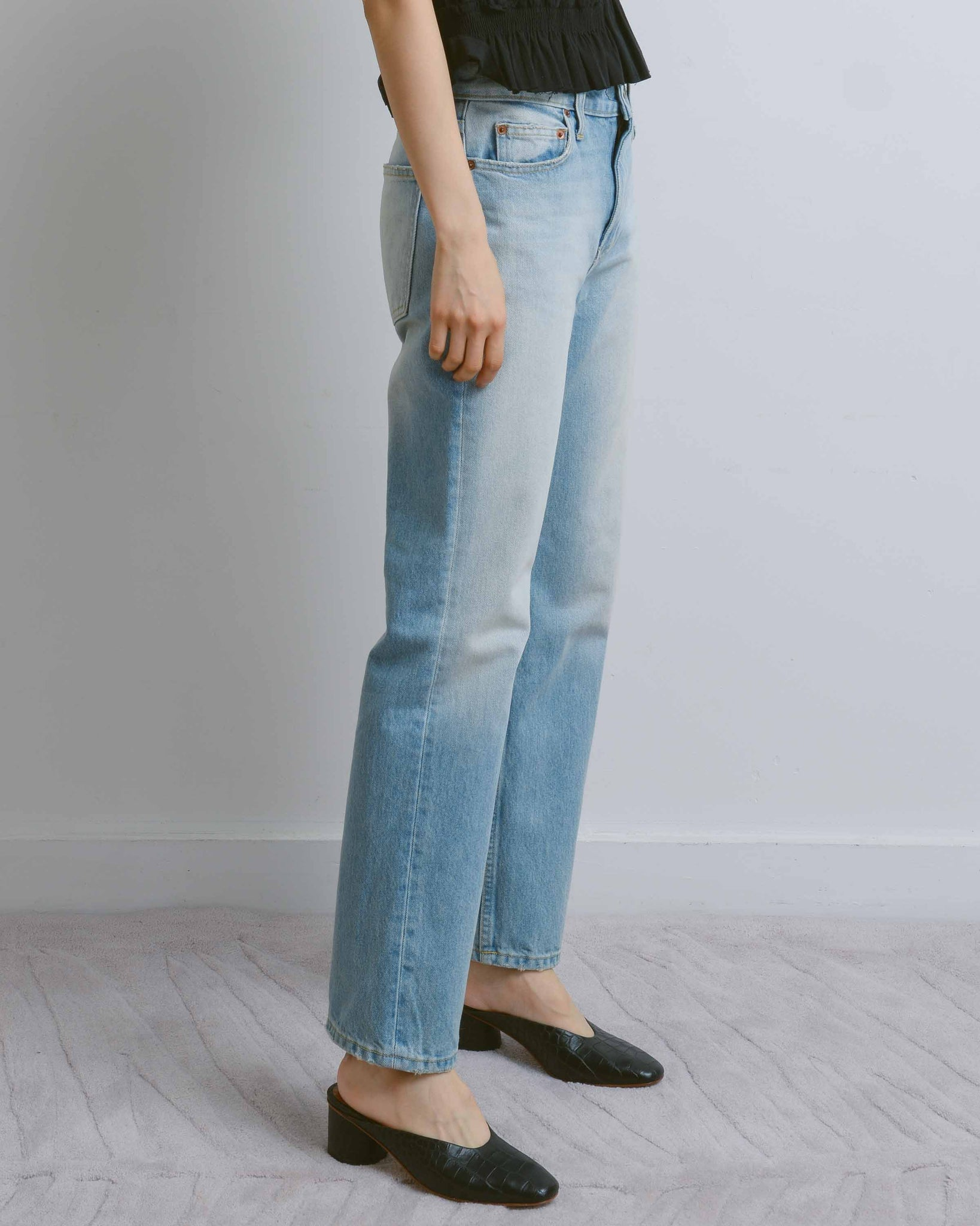 Arts Mid Straight Jeans